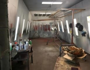 Col-Met Wet Paint Booth
